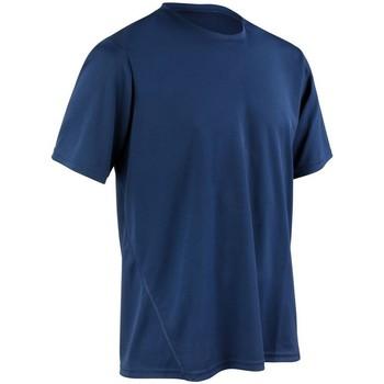 textil Herr T-shirts Spiro S253M Marinblått