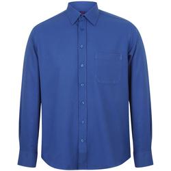 textil Herr Långärmade skjortor Henbury HB590 Kungliga