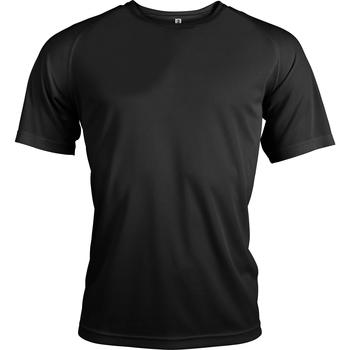 textil Herr T-shirts Kariban Proact PA438 Svart