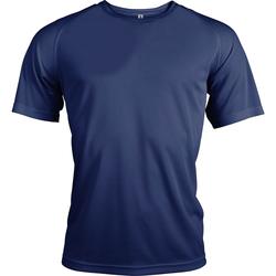 textil Herr T-shirts Kariban Proact PA438 Marinblått