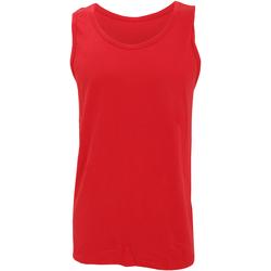 textil Herr Linnen / Ärmlösa T-shirts Gildan 64200 Röd