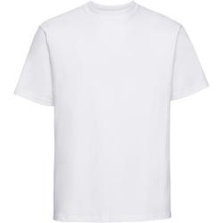 textil Herr T-shirts Russell 215M Vit