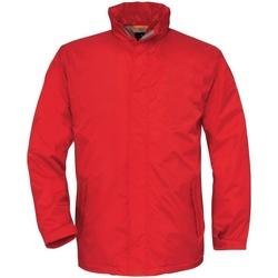 textil Herr Vår/höstjackor B And C BA675 Röd