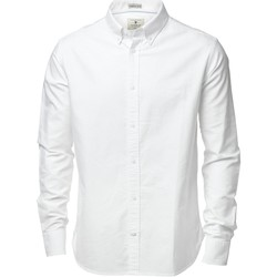 textil Herr Långärmade skjortor Nimbus NB45M Vit