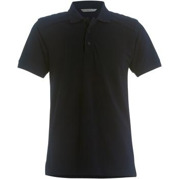 textil Herr Kortärmade pikétröjor Kustom Kit KK435 Marinblått