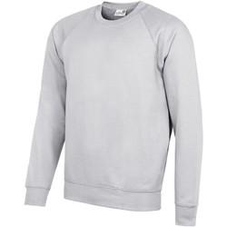 textil Herr Sweatshirts Awdis AC001 Grått