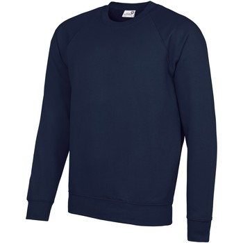 textil Herr Sweatshirts Awdis AC001 Marinblått
