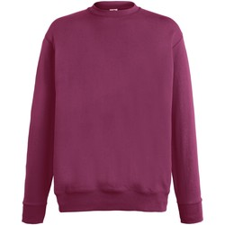 textil Herr Sweatshirts Fruit Of The Loom SS926 Bourgogne