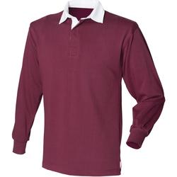 textil Herr Långärmade pikétröjor  Front Row Rugby Bourgogne