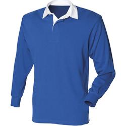 textil Herr Långärmade pikétröjor  Front Row Rugby Kungliga