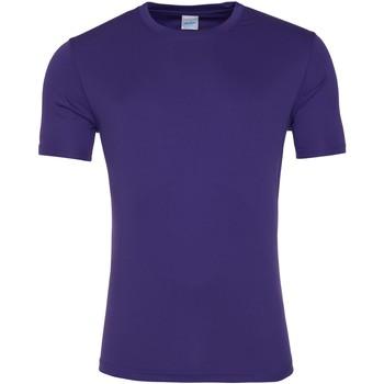 textil Herr T-shirts Awdis JC020 Lila