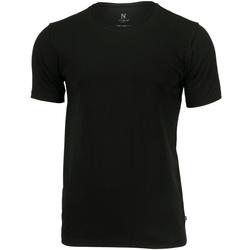 textil Herr T-shirts Nimbus NB73M Svart