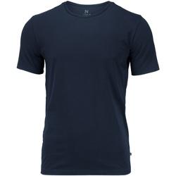 textil Herr T-shirts Nimbus NB73M Marinblått
