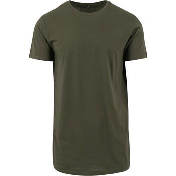 textil Herr T-shirts Build Your Brand Shaped Olive