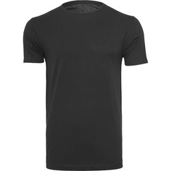 textil Herr T-shirts Build Your Brand BY005 Svart
