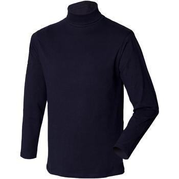 textil Herr Tröjor Henbury HB020 Marinblått