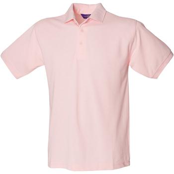 textil Herr Kortärmade pikétröjor Henbury HB400 Rosa