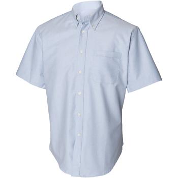 textil Herr Kortärmade skjortor Henbury HB515 Blå