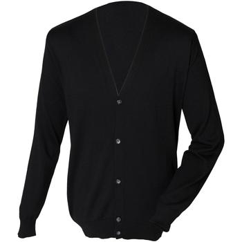 textil Herr Koftor / Cardigans / Västar Henbury HB722 Svart