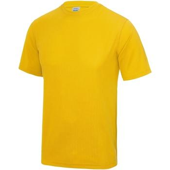textil Herr T-shirts Awdis JC001 Guld