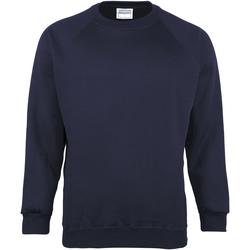 textil Herr Sweatshirts Maddins MD01M Marinblått