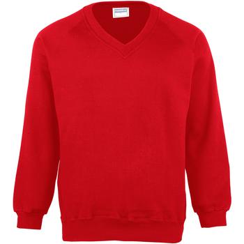 textil Herr Sweatshirts Maddins MD02M Röd