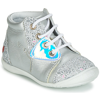 Skor Flickor Höga sneakers GBB VERONA Silver