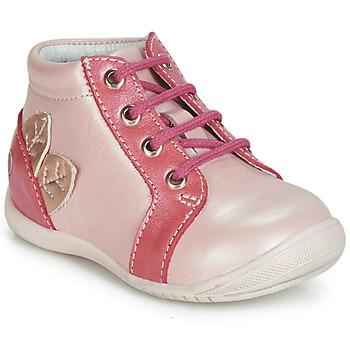 Skor Flickor Höga sneakers GBB FRANCKIE Rosa