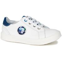 Skor Pojkar Sneakers GBB URSUL Vit / blå / Led