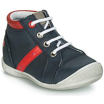 Skor Pojkar Höga sneakers GBB TARAVI Marin / Röd