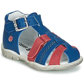 Skor Pojkar Sandaler GBB ARIGO Blå / Röd