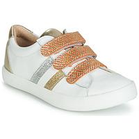 Skor Flickor Sneakers GBB MADO Vit / Guldfärgad