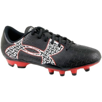 Skor Barn Fotbollsskor Under Armour Clutchfit Force 20 FG JR Svarta