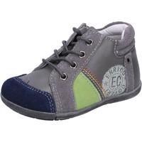 Skor Pojkar Sneakers Enrico Coveri sneakers grigio camoscio pelle BX827 Grigio