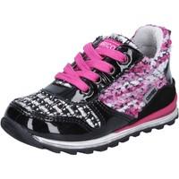 Skor Flickor Sneakers Enrico Coveri sneakers multicolor vernice tessuto BX830 Multicolore