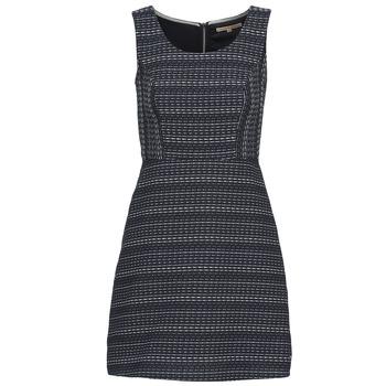 textil Dam Korta klänningar Tom Tailor BLANKA Marin / Vit