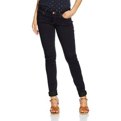textil Dam Skinny Jeans Wrangler Courtney Skinny W23SBV79B navy