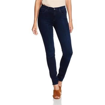 textil Dam Skinny Jeans Wrangler High Skinny W27HBV78Z navy