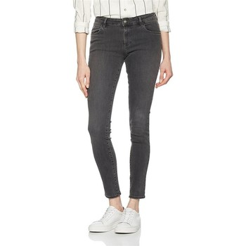 textil Dam Skinny Jeans Wrangler Skinny Ash W28KLX86O grey