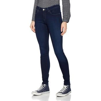 textil Dam Skinny Jeans Wrangler Super Skinny True Beauty W29JBV94Z navy