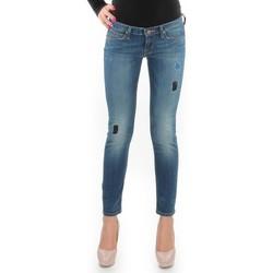 textil Dam Skinny Jeans Lee Lynn Skinny L357DNXA blue