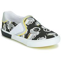 Skor Pojkar Sneakers Catimini CAMAZO Vit / Svart
