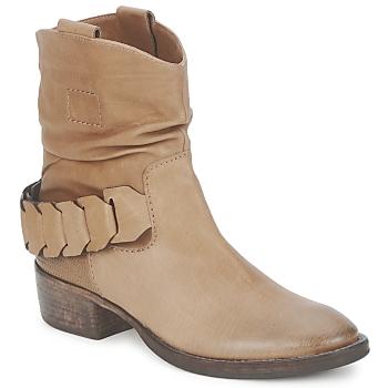 Skor Dam Boots Kennel + Schmenger SAMBA WEST Tryffelfärgad
