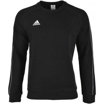 textil Herr Sweatshirts adidas Originals Core 18 Sweat Top Svarta