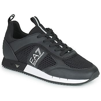 Skor Sneakers Emporio Armani EA7 LACES U Svart