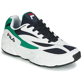 Skor Herr Sneakers Fila VENOM LOW Vit / Grön
