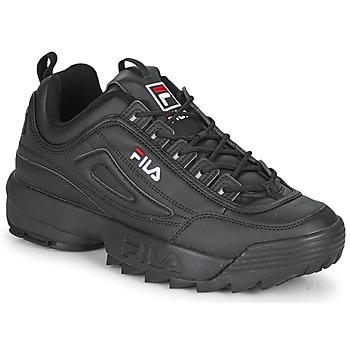 Skor Herr Sneakers Fila DISRUPTOR LOW Svart