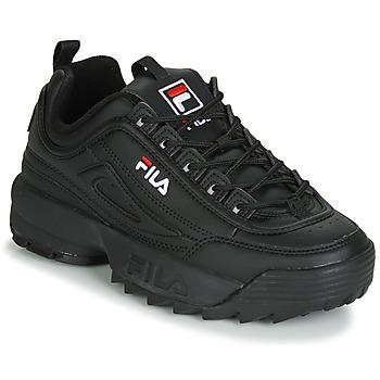 Skor Dam Sneakers Fila DISRUPTOR LOW WMN Svart