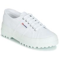 Skor Dam Sneakers Superga 2555 COTU Vit