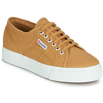 Skor Dam Sneakers Superga 2730 COTU Beige